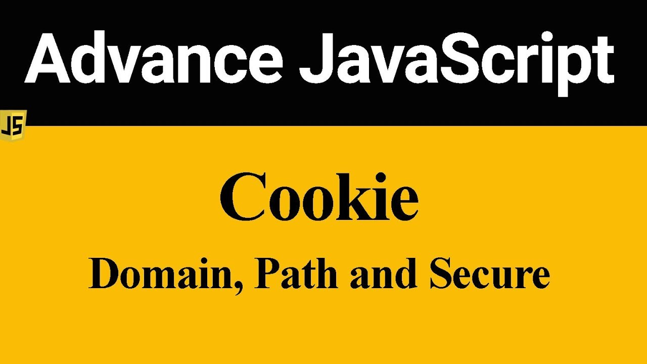 How To Set Cookie Domain Path And Secure In Javascript (hindi