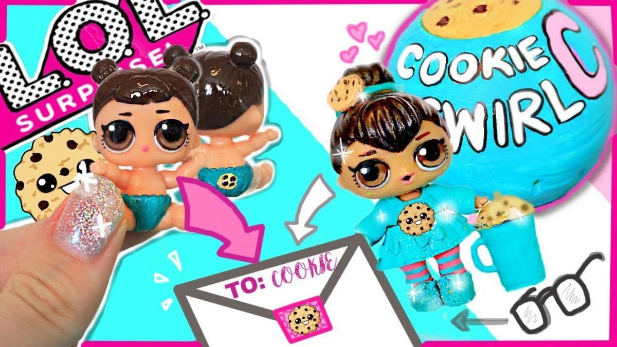 Cookieswirlc🍪 Lil Sis Custom Diy Lol Surprise Doll + Mailing It