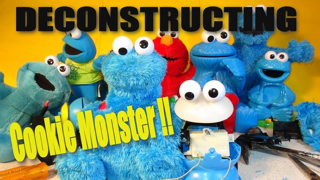 Deconstructing Cookie Monster Count N' Crunch
