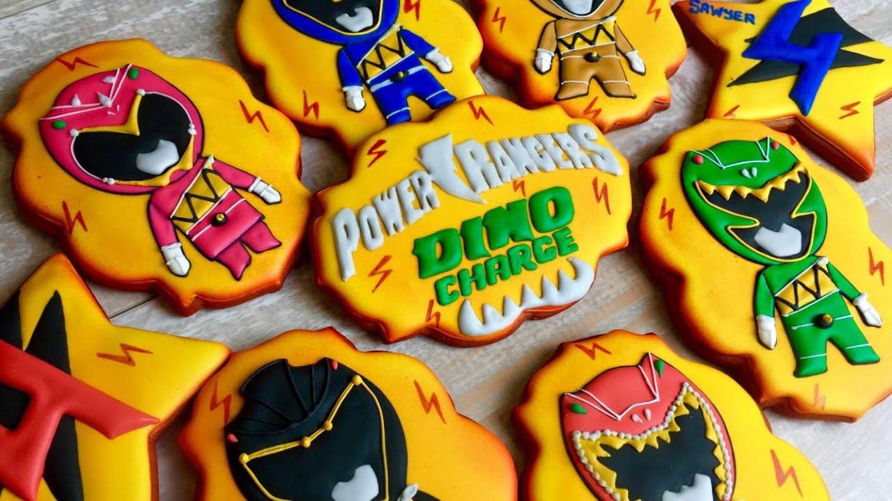 Power Rangers  Dino Charge Cookies By Talecookies
