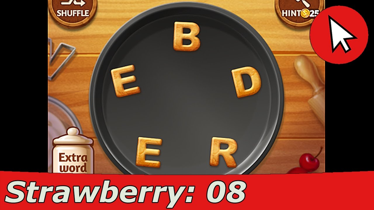 Word Cookies Strawberry 8 Answers Guide