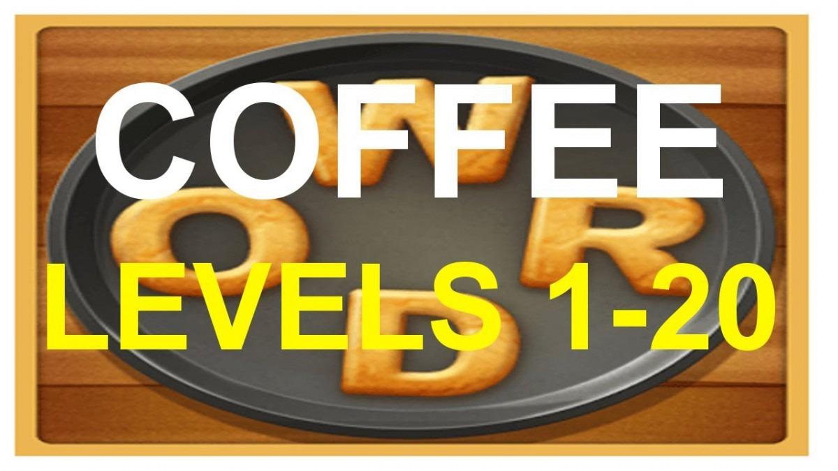 Word Cookies Coffee Level 1