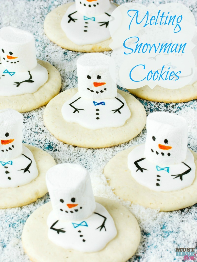 Melting Snowman Cookies Recipe