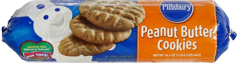 Pillsbury Recipes Peanut Butter Cookies