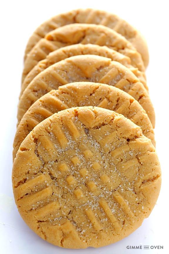 Peanut Butter Cookies Recipe — Dishmaps