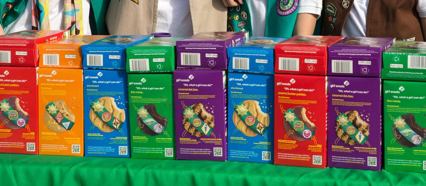 Peanut Er Scout Cookies