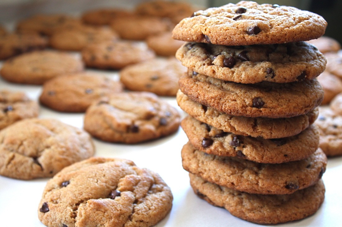 Perfect Chocolate Chip Cookies [vegan]