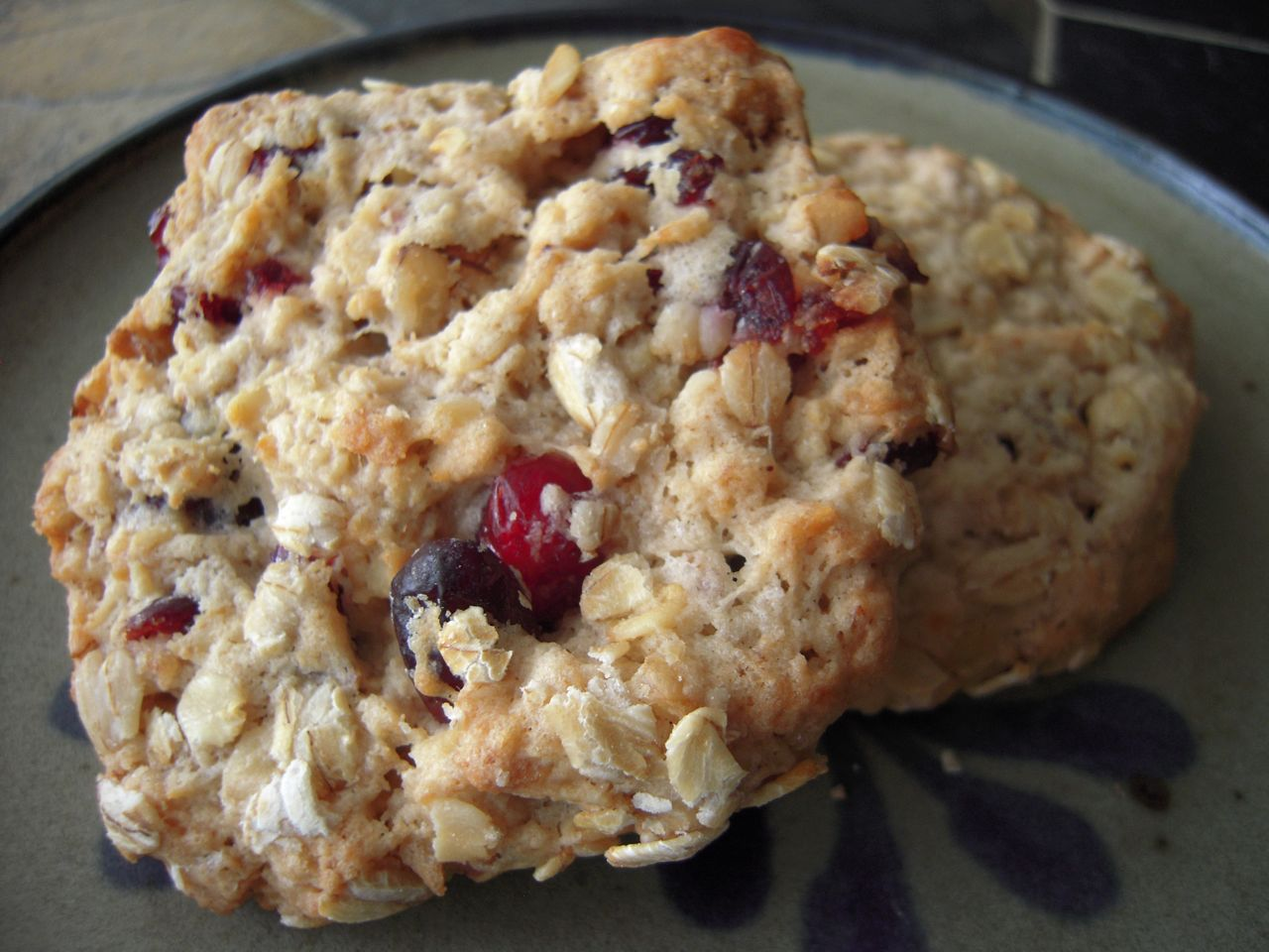 Oatmeal Cranberry Cookies Recipe — Dishmaps