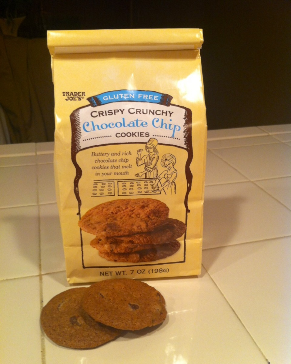 Gluten Free Crispy Crunchy Chocolate Chip Cookies (trader Joe's