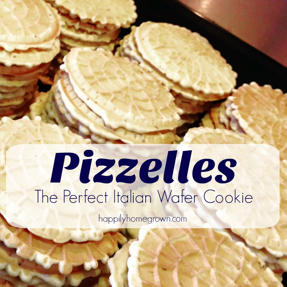 Pizzelles  The Perfect Italian Wafer Cookie