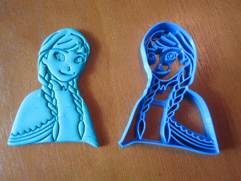 Princess Anna Cookie Cutter 01 By B2squared On Deviantart
