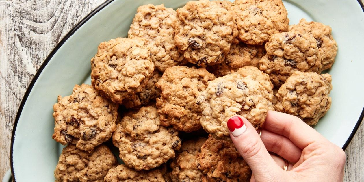 Quaker Vanishing Oatmeal Raisin Cookies Recipe