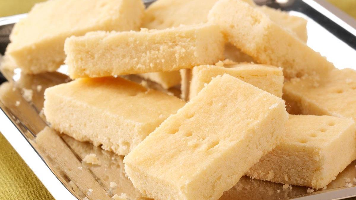 Shortbread Squares Recipe