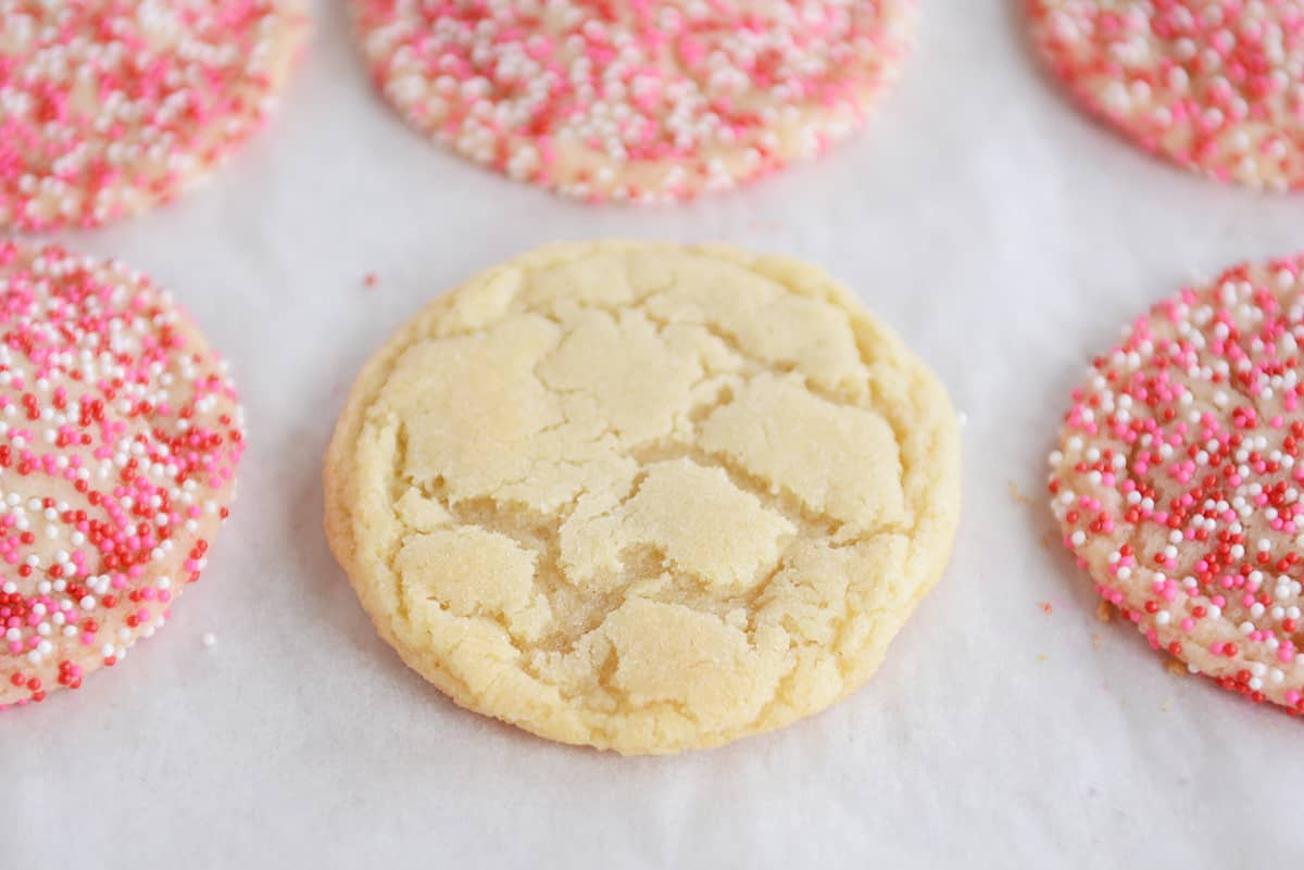Easy Soft + Chewy Sugar Cookies