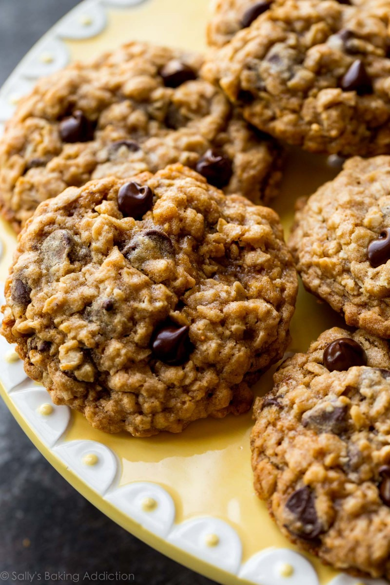 Oat Chocolate Chip Cookies — Recipes Hubs