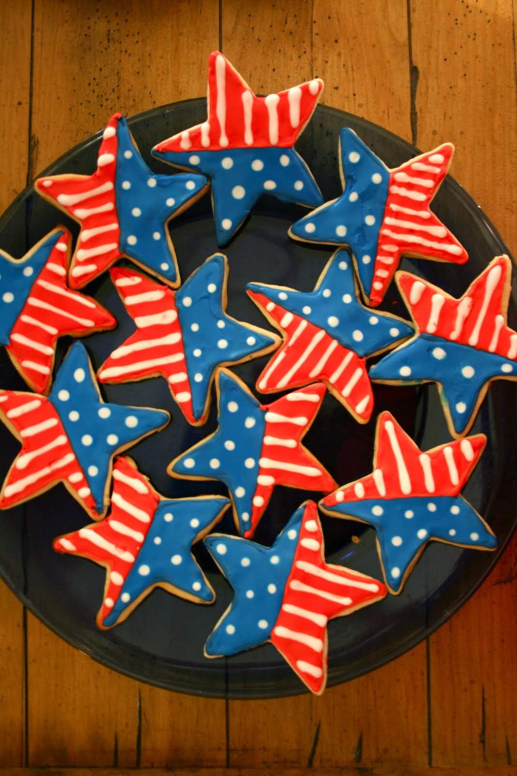 4th Of July Sugar Cookies