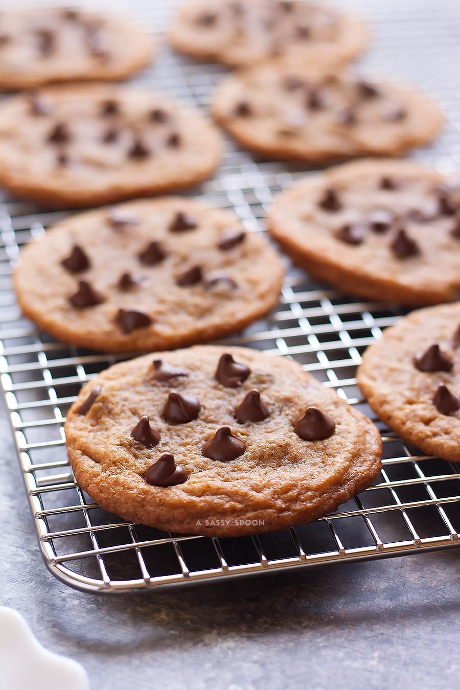 The Best Chewy, Rich, Soft Chocolate Chip Cookies
