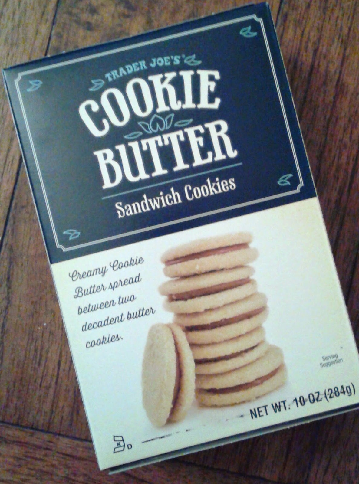 What's Good At Trader Joe's   Trader Joe's Cookie Butter Sandwich