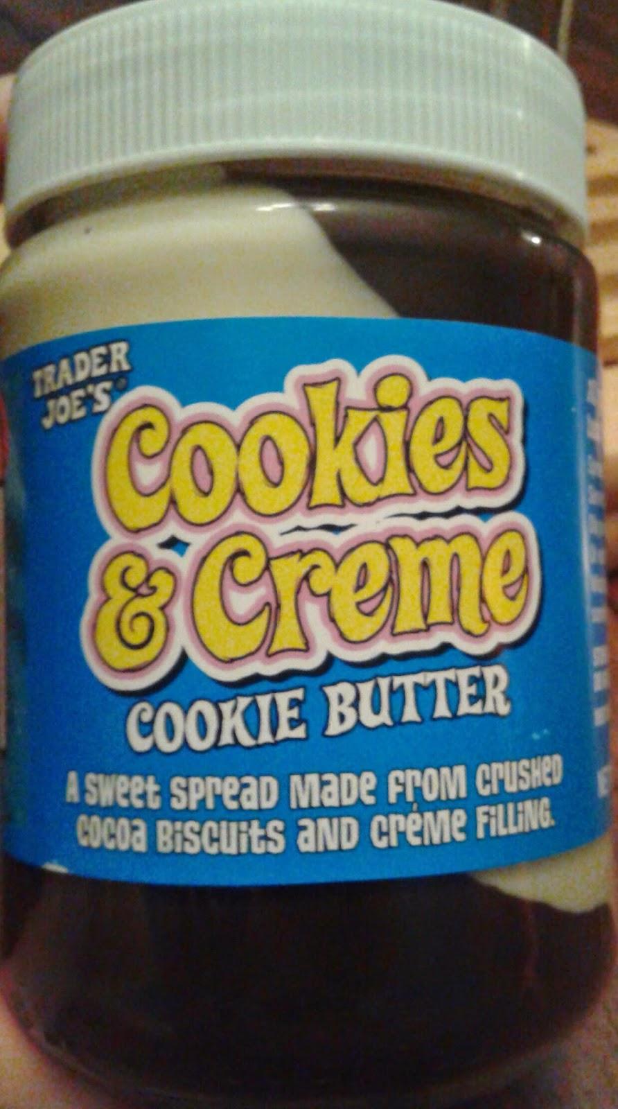 What's Good At Trader Joe's   Trader Joe's Cookies & Creme Cookie