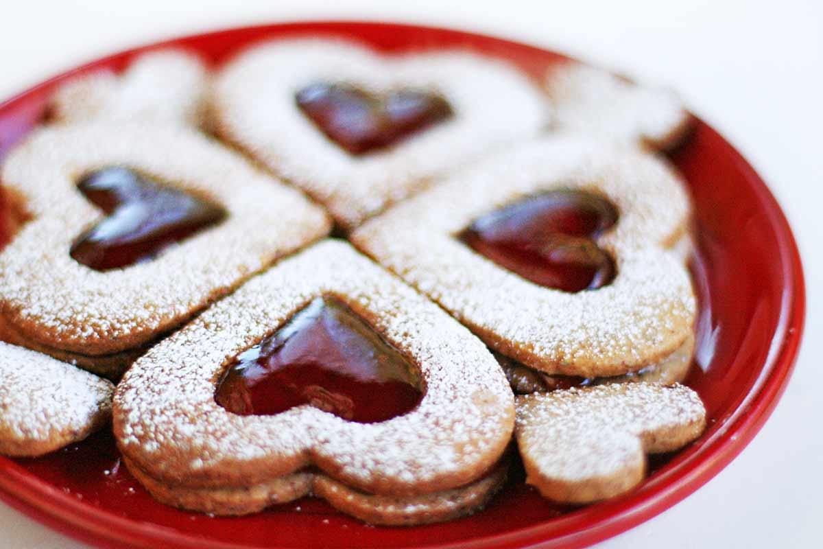 Valentine Linzer Cookies Recipe