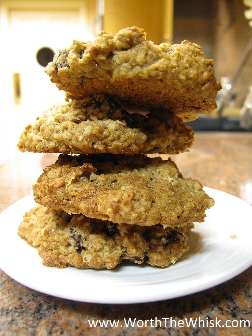 Vanishing Oatmeal Raisin Cookies · Worth The Whisk