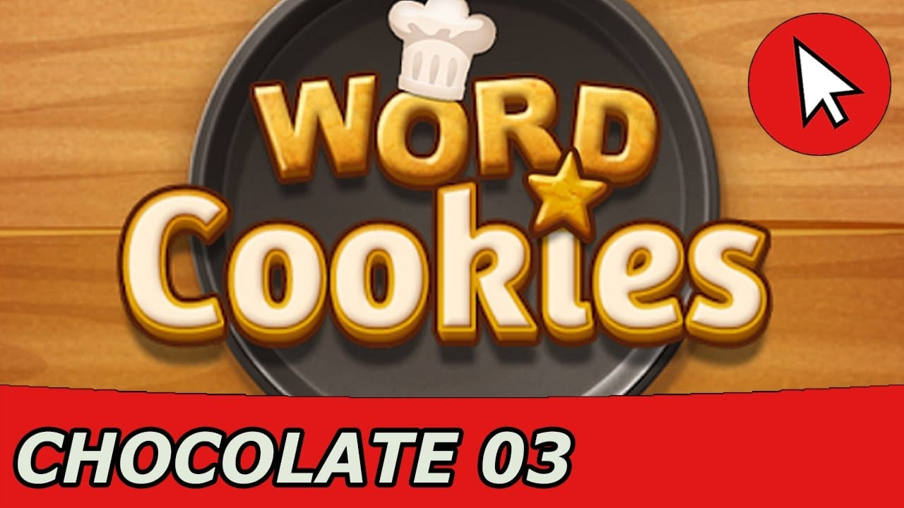 Word Cookies Chocolate 3 Answers Guide (android Ios)