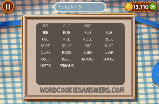 Best Word Cookies Pumpkin 9 Image Collection