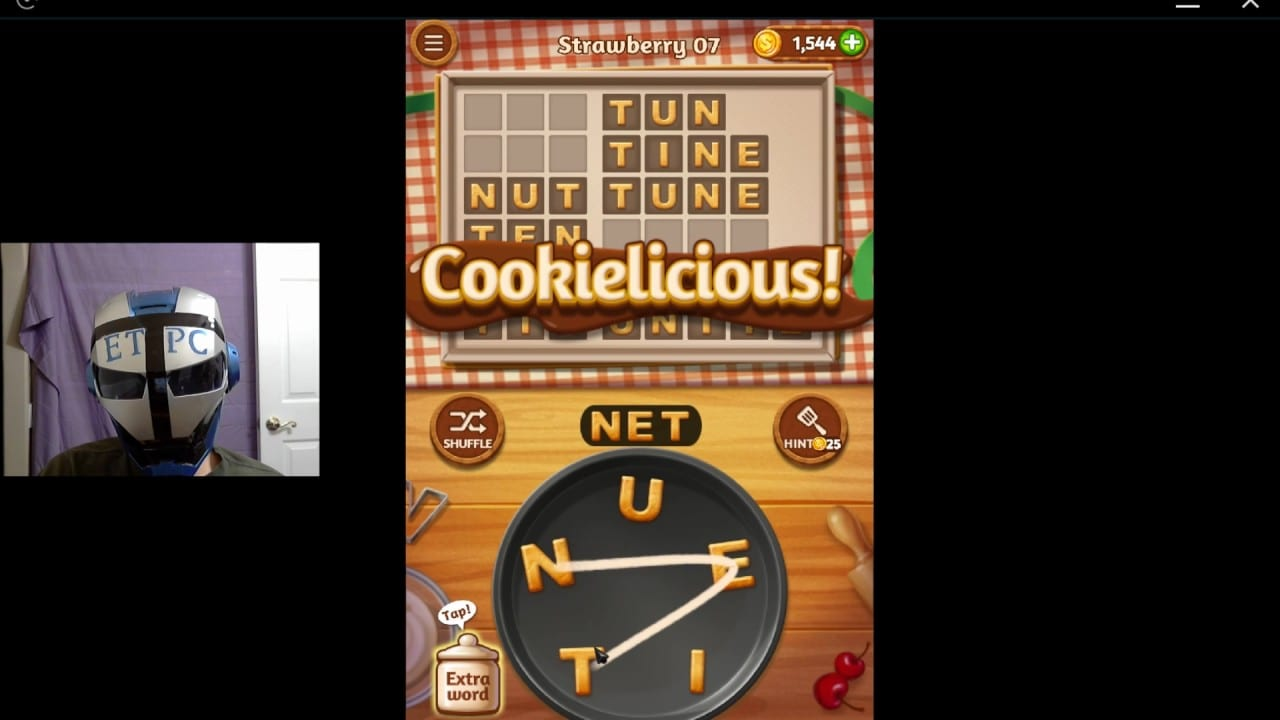 Word Cookies Strawberry 07 Solved