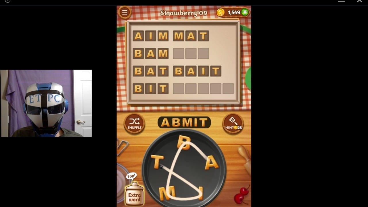 Word Cookies Strawberry 09 Solved