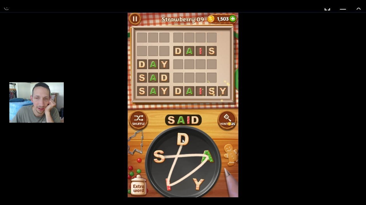 Word Cookies, Talented Chef, Strawberry Updated Level 9 Solved