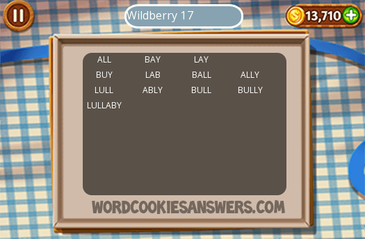 Best Word Cookies Wildberry Level 17 Image Collection