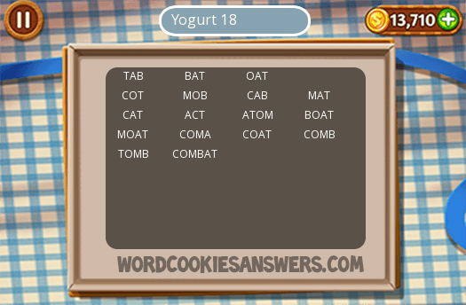 Best Yogurt 18 Word Cookies Answers Image Collection