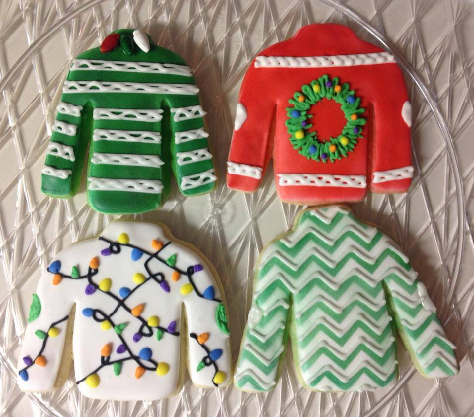 Ugly Christmas Sweater Cookies   Food