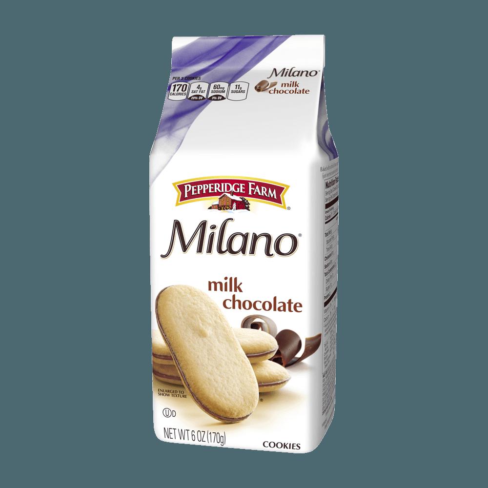 Milano® Milk Chocolate Cookies