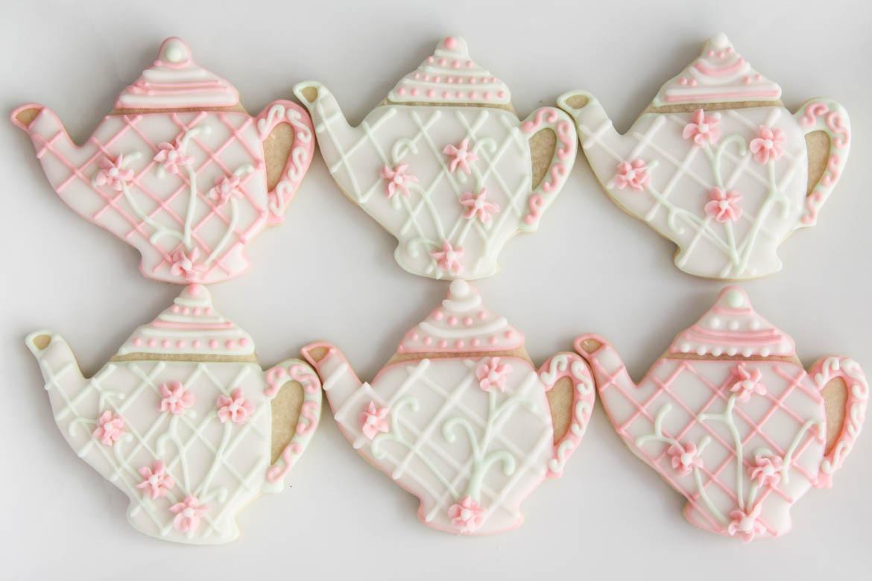 Tea Pot Sugar Cookies