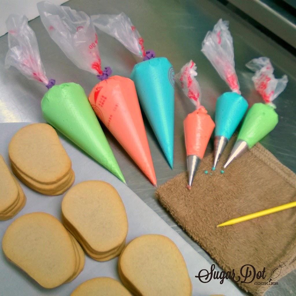 Sugar Dot Cookies  Tutorial