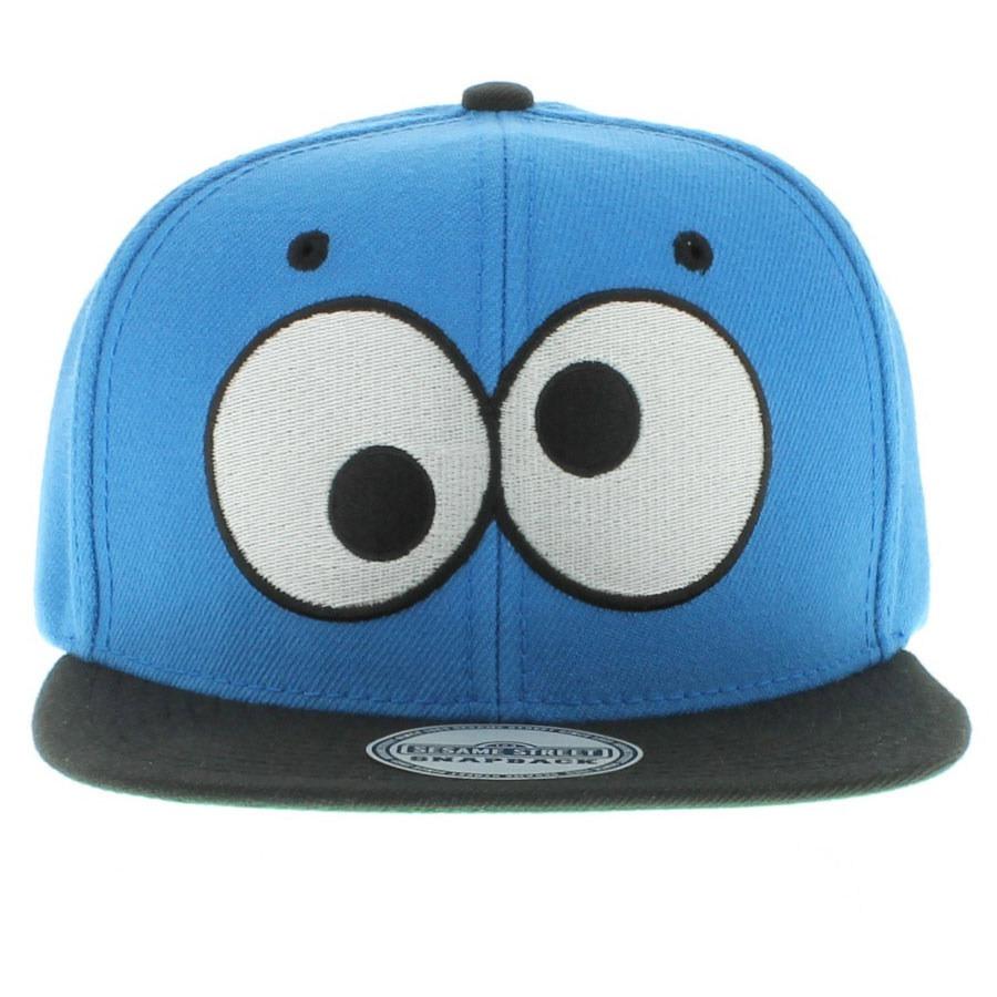Cookie Monster Eyes Snapback