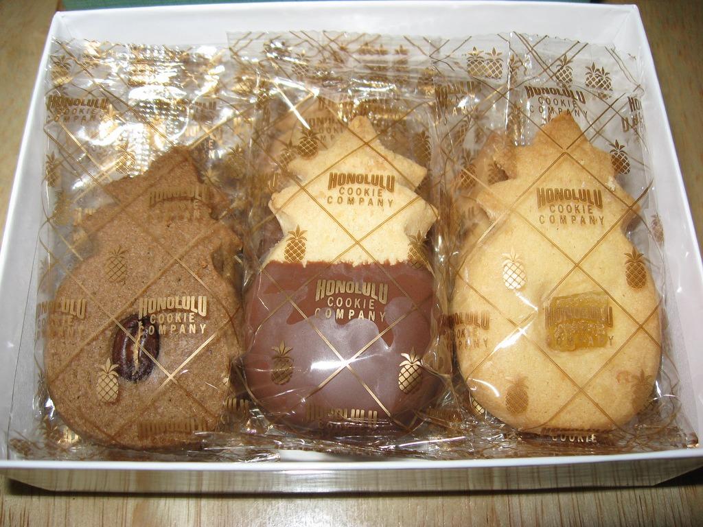 Hawaiian Shortbread Cookies