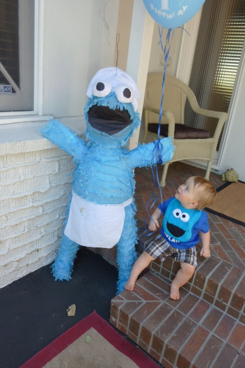 Events By Criss  Cookie Monster 1st Birthday