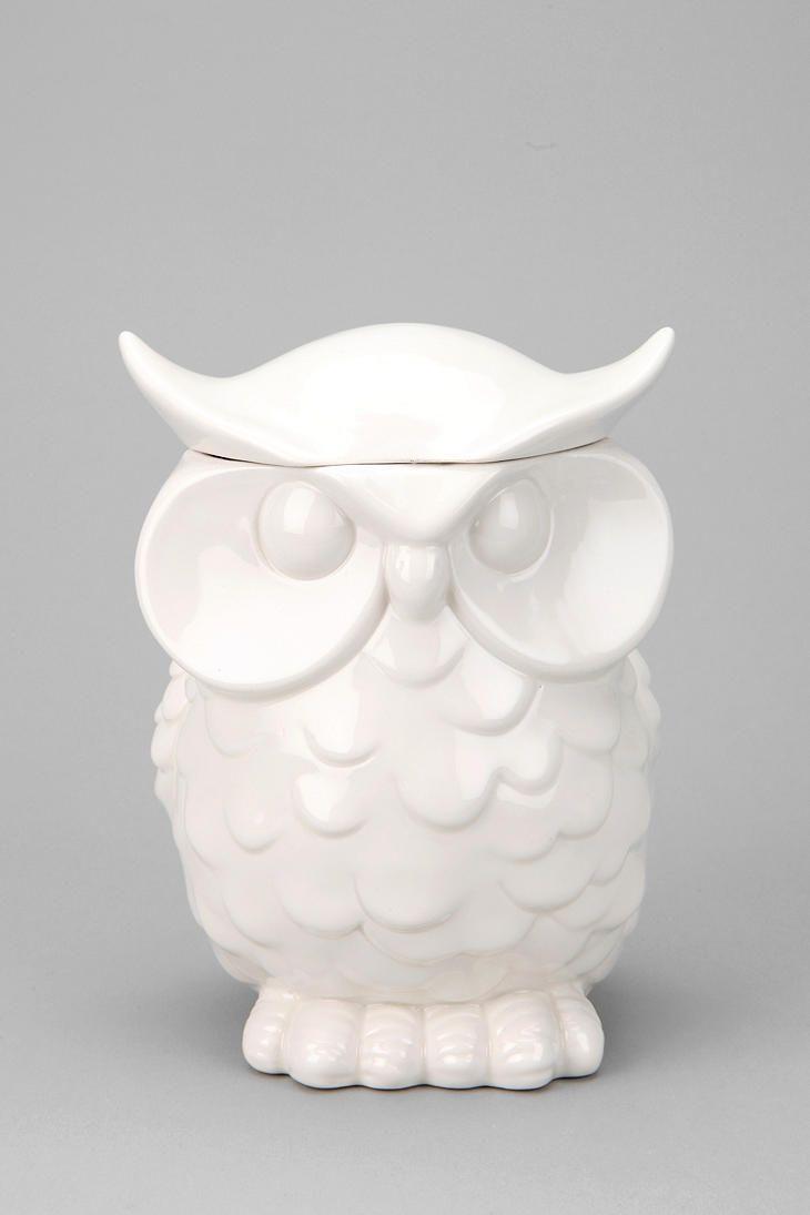 Owl Cookie Jar  Urbanoutfitters