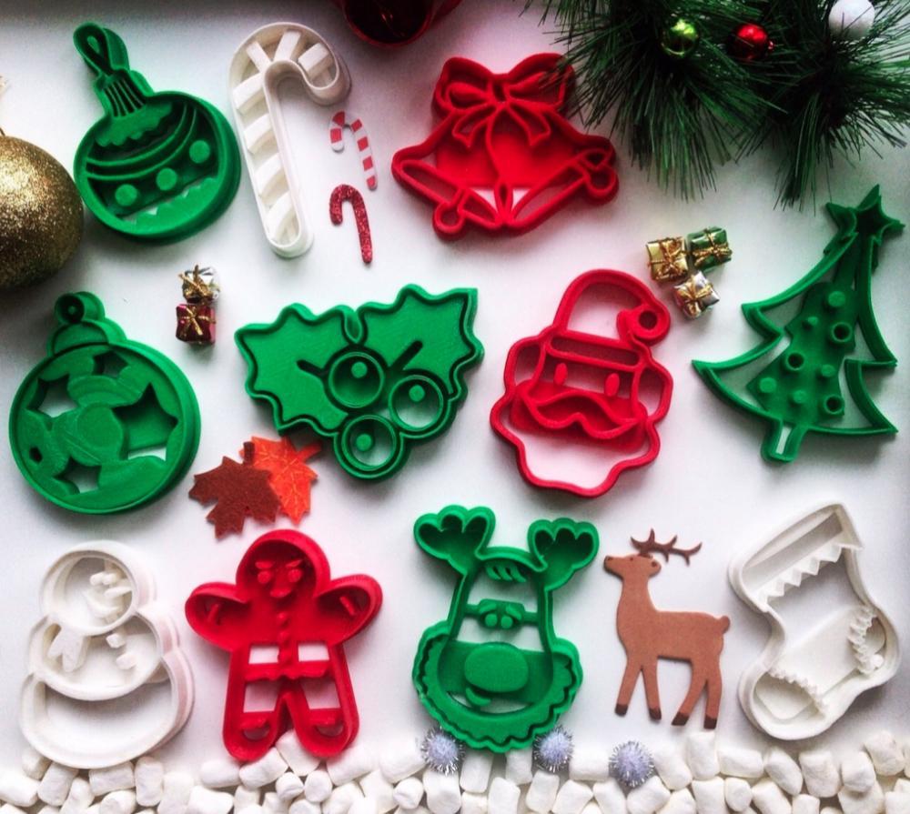 Weekly Roundup  Ten 3d Printable Christmas Cookie Cutters