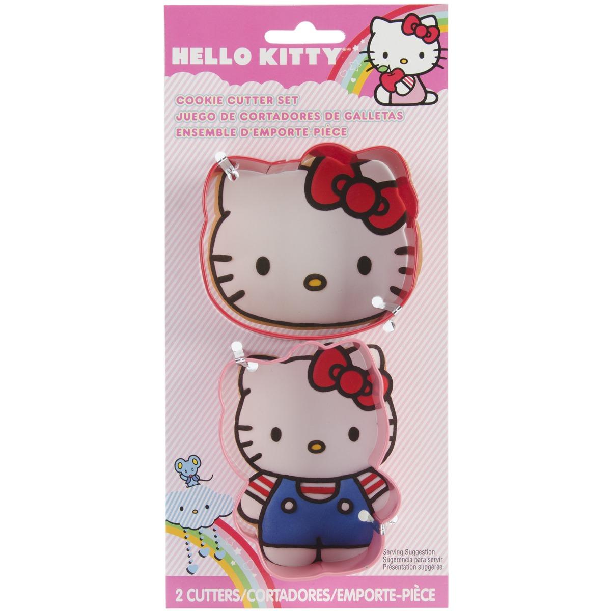 Wilton Hello Kitty Cookie Cutter Set