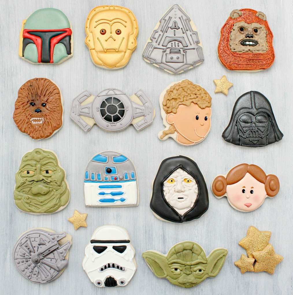 Star Wars Cookies Cast