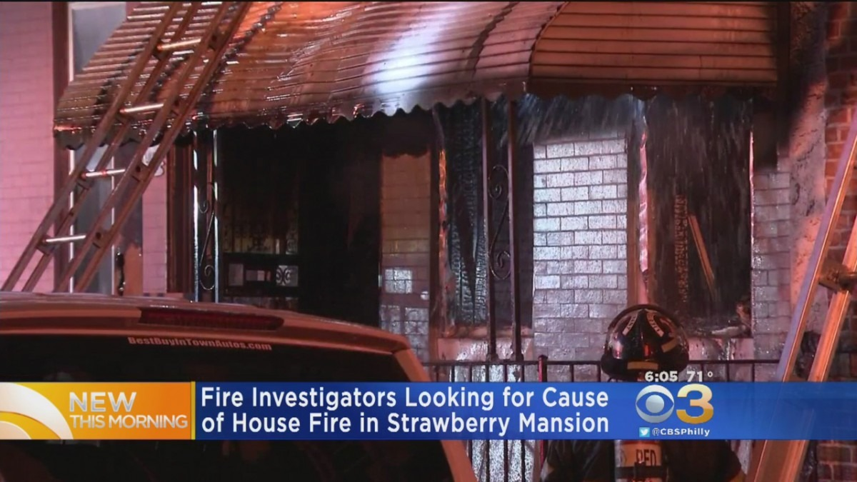 Elderly Woman Taken To Hospital After Row Home Fire In Strawberry