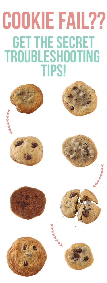 Fix Cookies That Are Too Flat, Thick, Greasy, Crumbly, Hard, Or