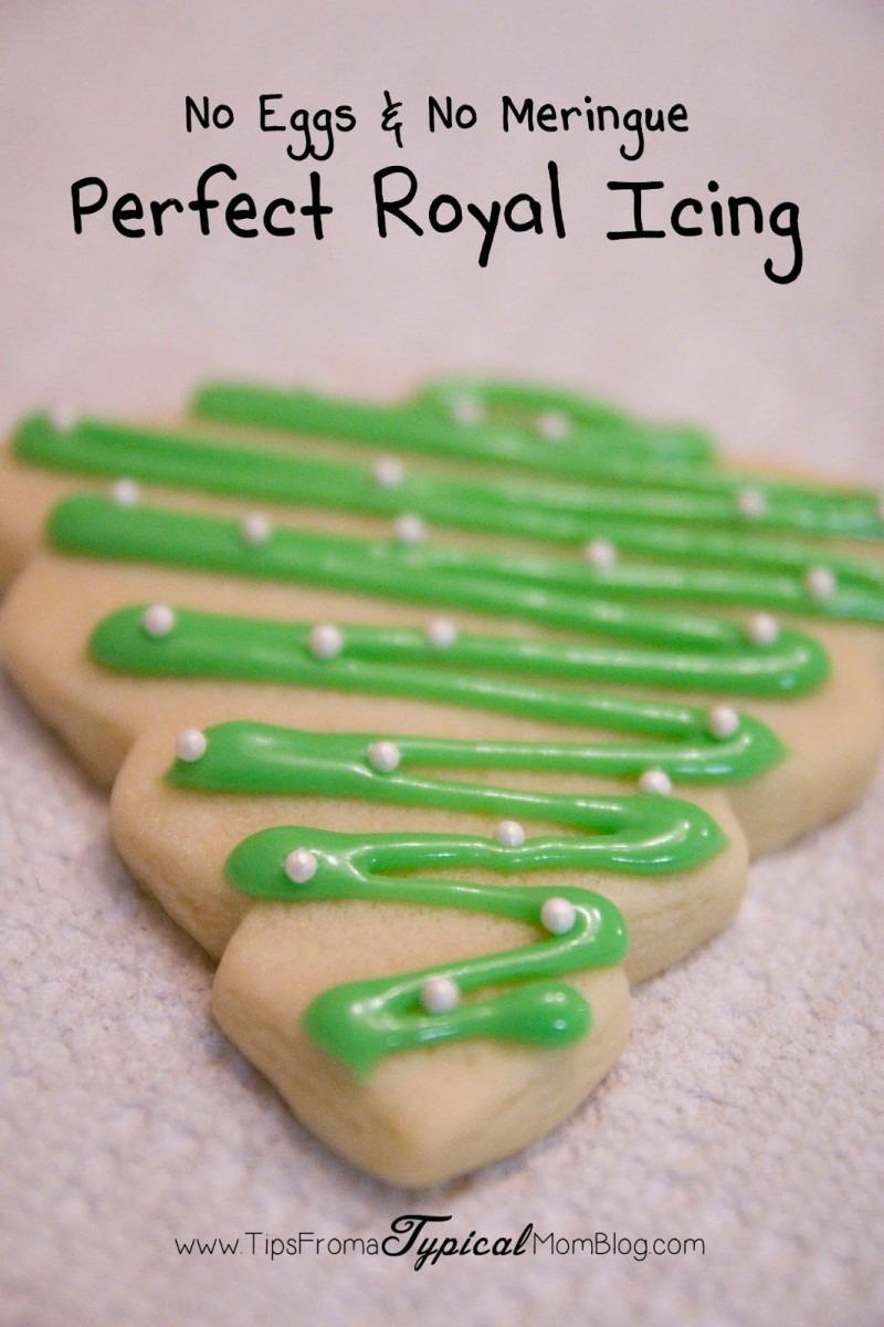 Royal Icing Without Egg Whites Or Meringue Powder