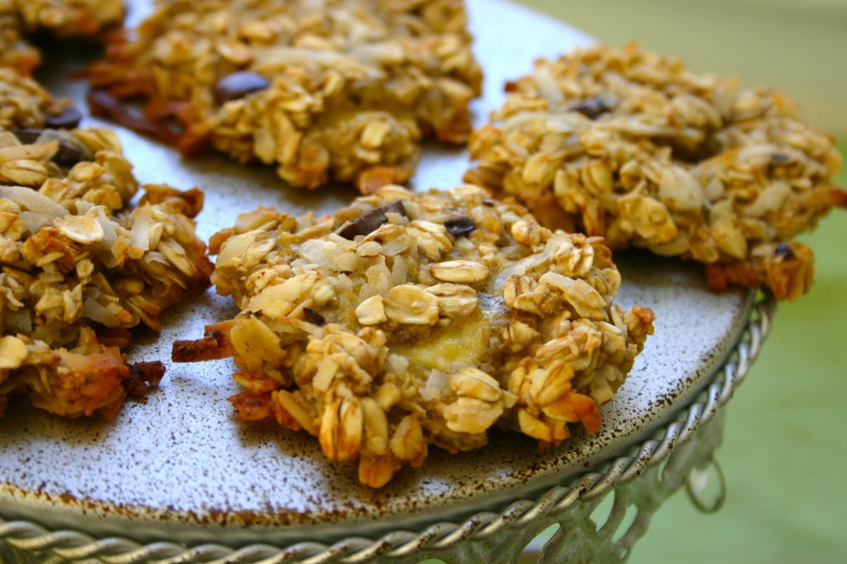 Bake It And Make It With Beth  Banana Oatmeal Cookies