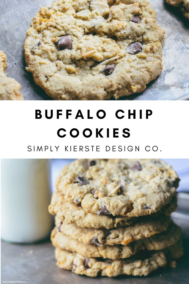 Best Ideas For Diy Crafts   Buffalo Chip Cookies
