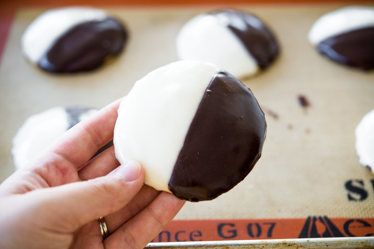Black And White Cookies Recipe — Dishmaps