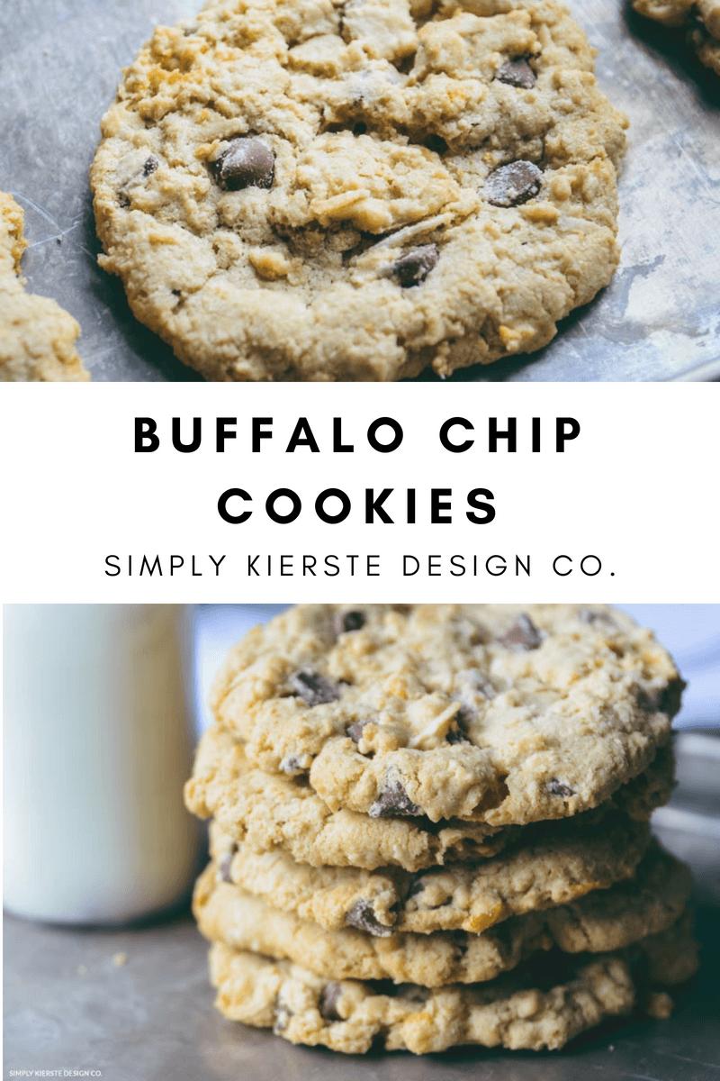 Giant Buffalo Chip Cookies